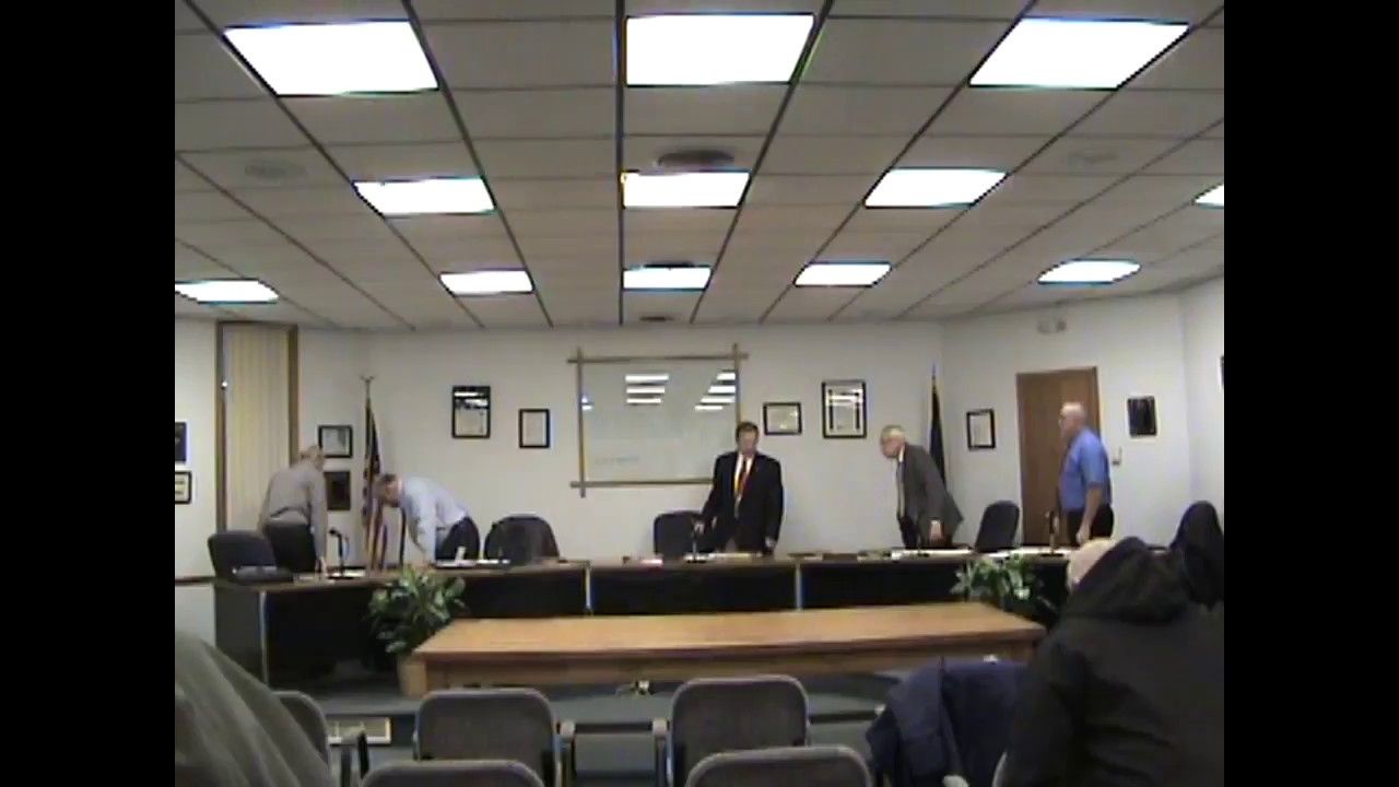 Rouses Point Village Board Meeting   12-18-17