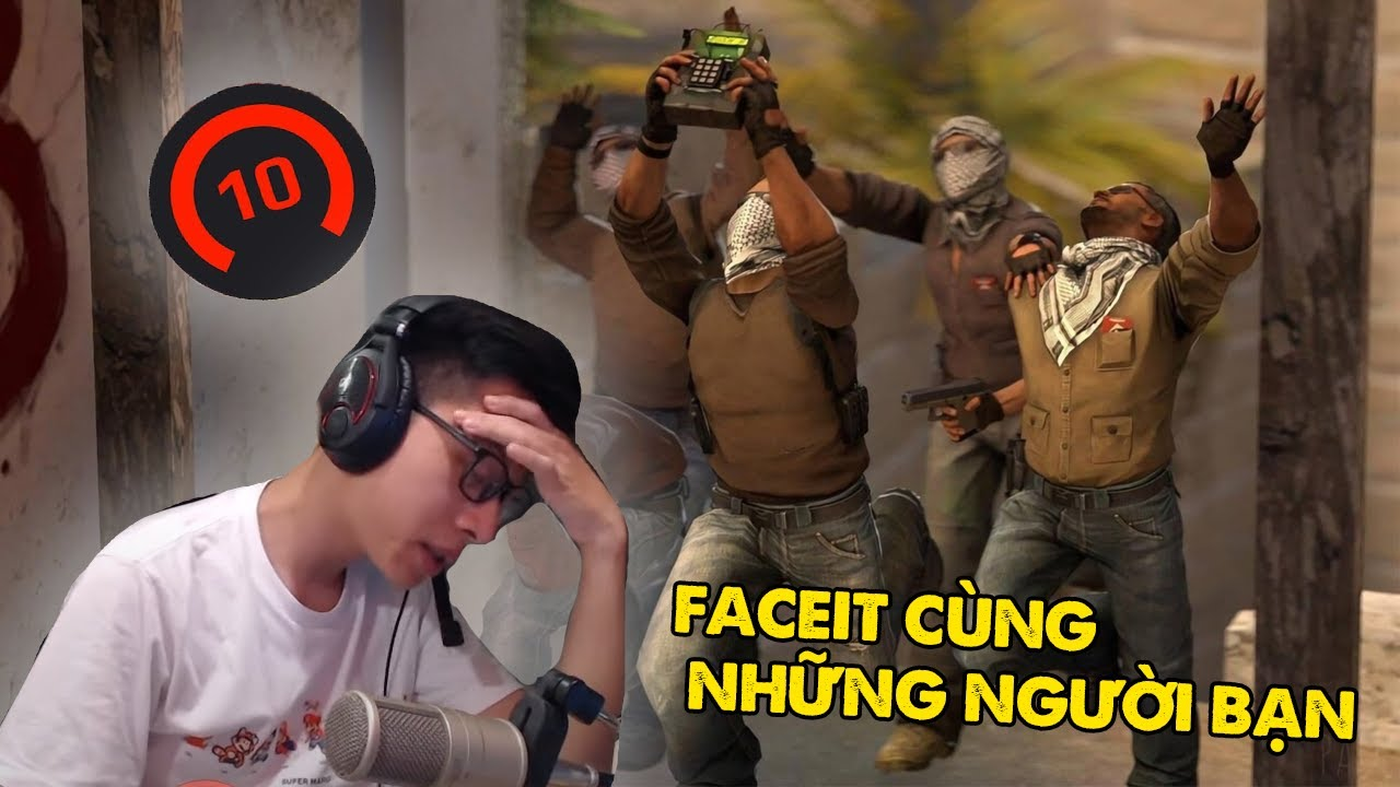 Tóm Tắt Buổi Stream Try Hard Faceit Cùng Tổ Đội Benten, Damit, Deftsu, Bapj