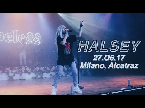 HALSEY 27.06.17 Milano, Alcatraz | Giacomo