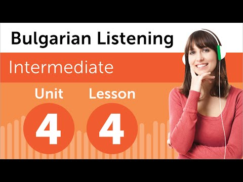 Bulgarian Listening Practice - Listening to a Bulgarian Weather Forecast