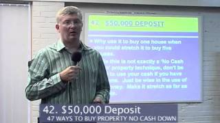 The Property King-Sean Summerville Use Your Deposit Wisely Part 42