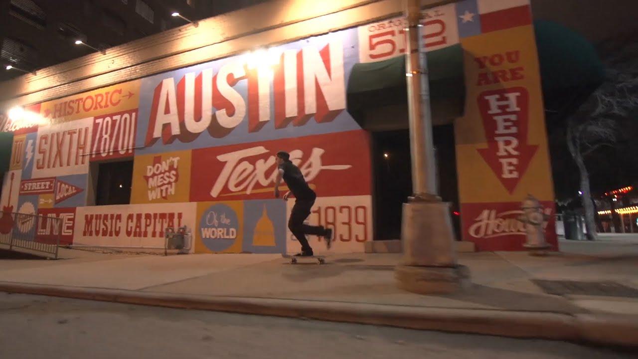 Onnit Pro Skater Greg Lutzka Over Austin