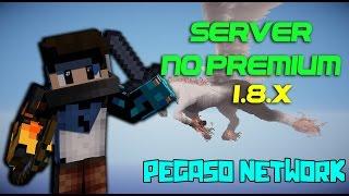 SERVER NO PREMIUM MINECRAFT 1.8.X - EGGWARS, SKYWARS, THE TOWERS, HG