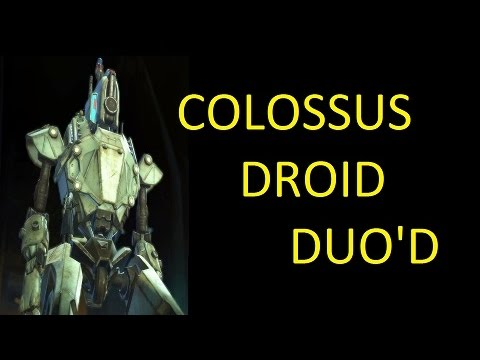 SWTOR - Duo'd - Colossus Droid