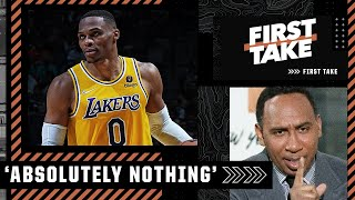 Stephen A.: Russell Westbrook's performance showed us NOTHING! | First Take
