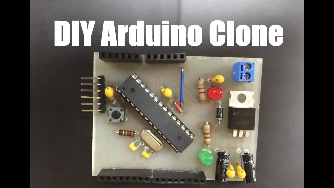 Diy arduino clone pcb etching tin plating drilling