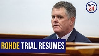 WATCH LIVE: Rohde trial resumes (6 August Part 2)