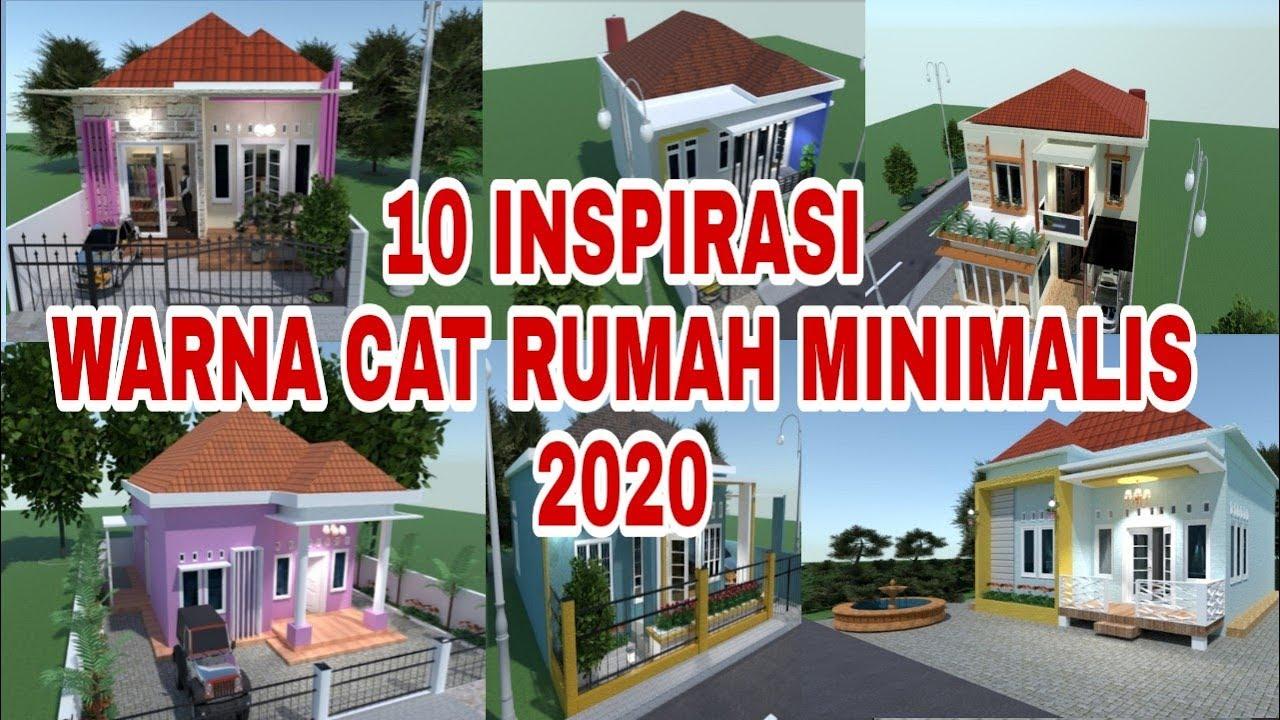 10 Inspirasi Warna Cat Rumah Minimalis 2020 Youtube