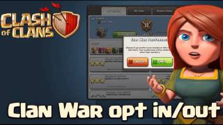 Clash of Clans| Clan War Opt In/ Out and Base Preview|New February Update|Sneak Peak #3