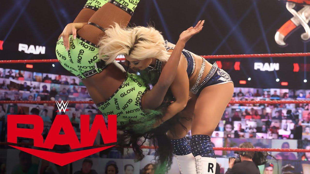 Naomi & Lana vs. Mandy Rose & Dana Brooke: Raw, Mar. 15, 2021