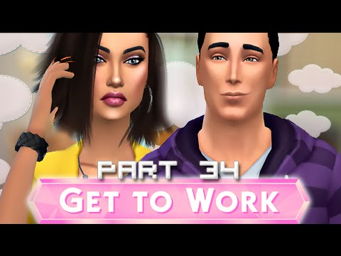 The Sims 4 | Get To Work | Part 34- BLAST OFF!!!!