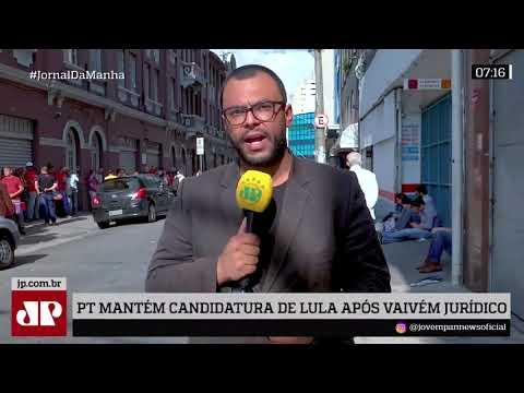 PT Mantém Candidatura De Lula, Mesmo Após Imbróglio Jurídico