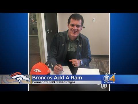 Broncos Sign Former CSU Rams Quarterback Nick Stevens