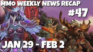 MMO Weekly News Recap #47   January 29-February 2