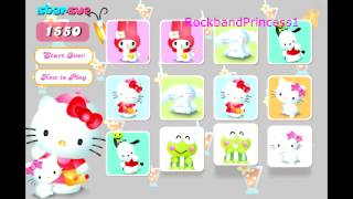 Hello Kitty Game - Free Online Games - Card Game - Memory Game