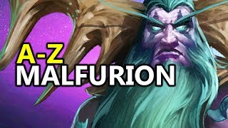 ♥ A - Z Malfurion - Heroes of the Storm (HotS Gameplay)