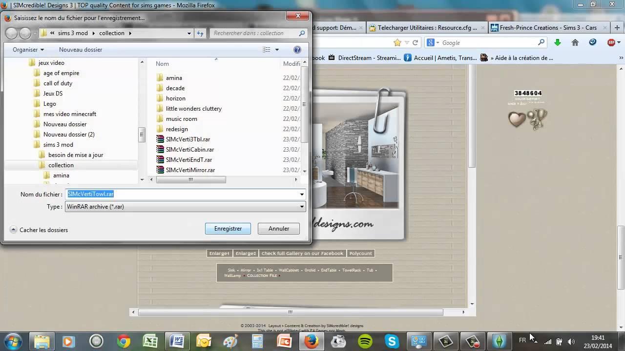installer un mod pour les sims 3 site avec contenu sims 3 store gratuit youtube. Black Bedroom Furniture Sets. Home Design Ideas