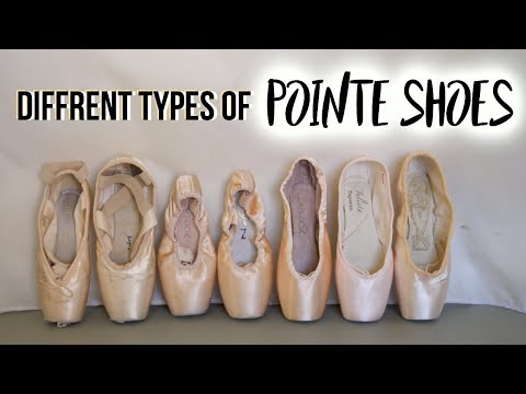 Diffrent types of Pointe Shoes | My experience | Talia