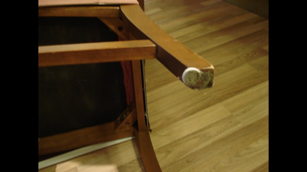 Chair Felt Pads Crayola Wooden Table Set Solved Slide Off Furniture Hack To Protect Floor Diy Pin Casters That Stay On