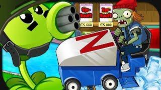 Meine PFLANZEN werden zum MASCHINENGEWEHR! ☆ Plants vs. Zombies