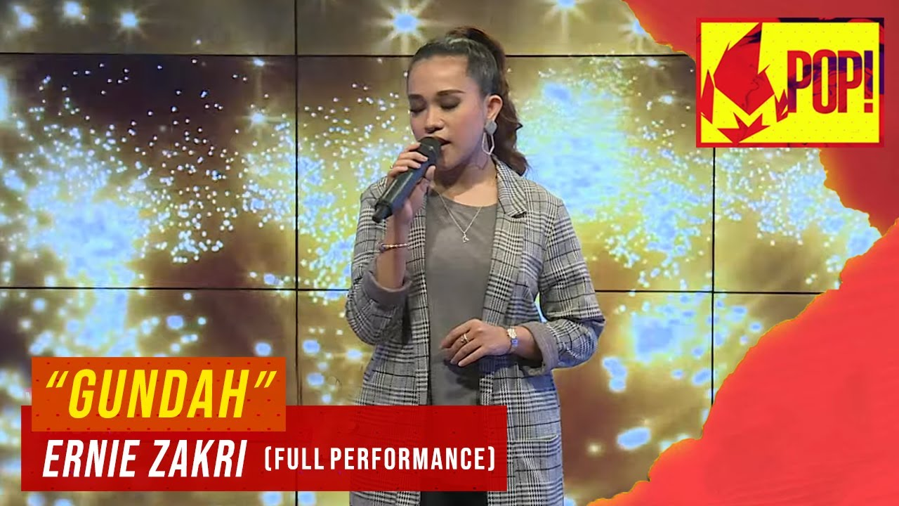 Download MPop! : Ernie Zakri - Gundah (Full Performance)