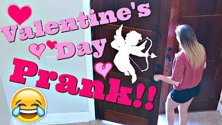Valentines Day Prank on Taylor | Prank Wars |Taylor and Vanessa