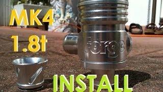 FORGE 007 Splitter Valve Install MK4 1.8t