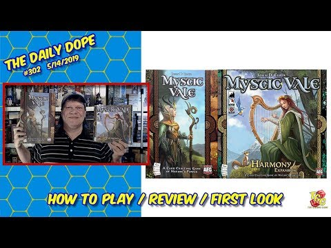 Mystic Vale Review & Mystic Vale: Harmony First Look on The Daily Dope #302