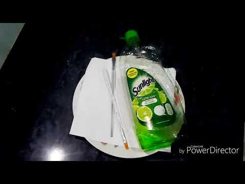 DIY HOMEMADE PAPER SOAP EASY AND 100% work this