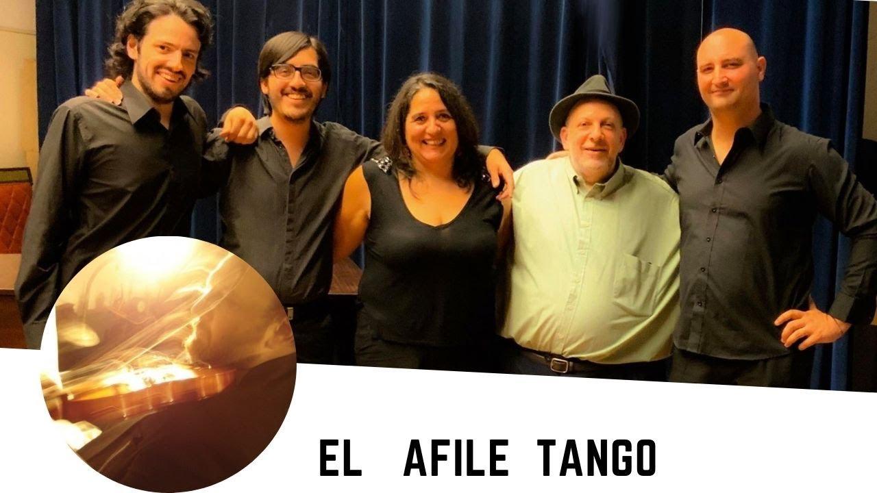 """Show en Homero Manzi """"Desencuentro"""" por el AFILE TANGO, violin Adolfo Halsband"""