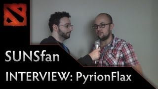 Dota 2 TI3 Interview - SUNSfan interviews Pyrion Flax