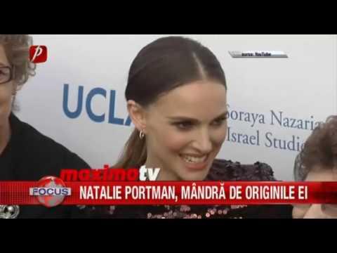 NATALIE PORTMAN, MÂNDRĂ DE ORIGINILE EI
