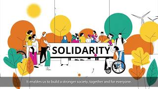 Europe talks Solidarity: 4 main concepts connected with Solidarity and 7 supporting ones