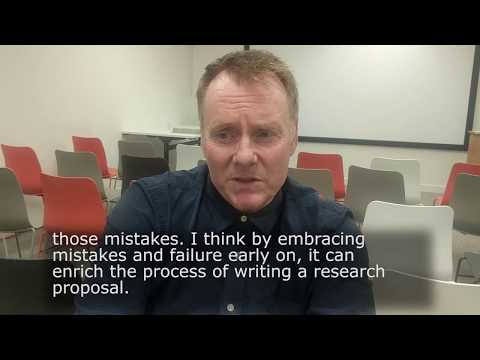 Prof Paul Rodger's Top Tips for applying for funding