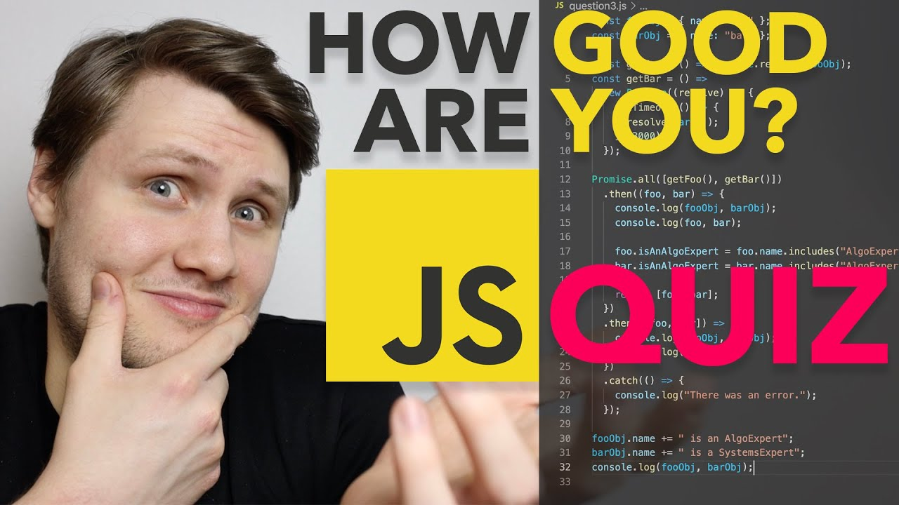 How Good Are You At JavaScript? - JavaScript QUIZ!
