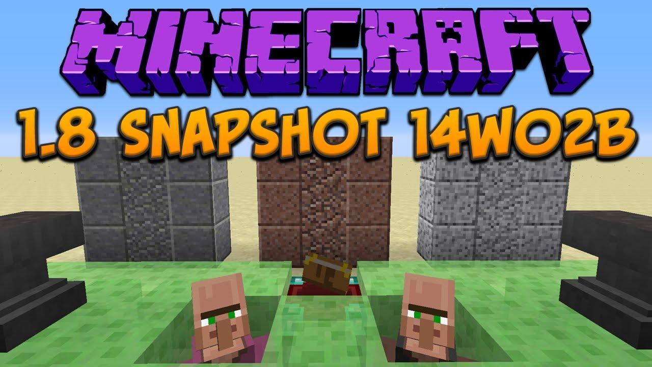 snapshot 1.8 minecraft