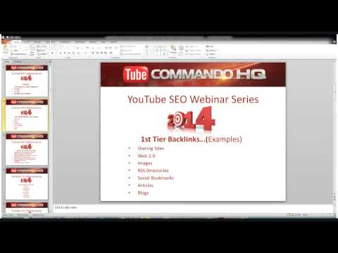 Best Practices for YouTube SEO in 2014 Backlinking 101