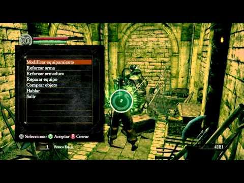 Truco Dark Souls : Overpowered en 15 Minutos (Juego fácil, y con ventaja)