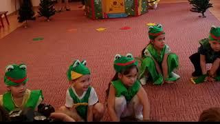 Костюм лягушки своими руками. Сшила костюм лягушки для Николь. Праздничный концерт в детском саду.