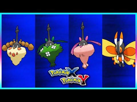 Pokemon X & Y - How To Get Burmy's Forms