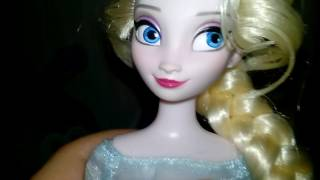 Обзор на куклу Эльзу