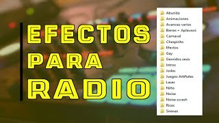 Efectos para radio + Jingle Palette Gratis ✔ 2018