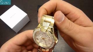 GUESS Ladies Fashion Gold ST Ladies Watch I16540L1 - E-oro.gr
