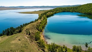Озеро Большое Парное Круглое Келинголь и Малое Шарыповские озёра