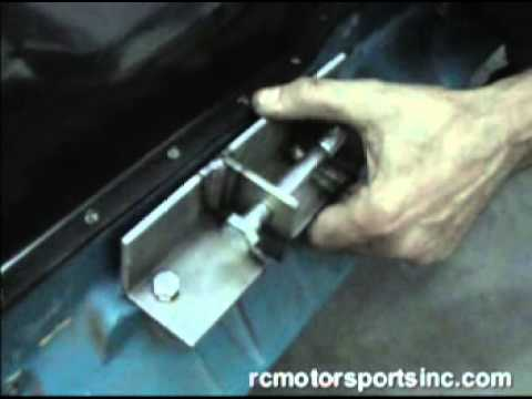 Engine Block Mount Installation