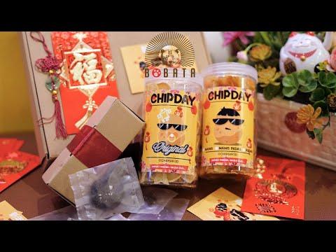 Making Chinese New Year Hampers at Bobata Cafe, Daily Cafe Vlog - Bobata Cafe Vlog