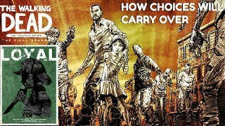 """The Walking Dead:Season 4: """"The Final Season"""" How Choices Will Carry + My Clementine Story - Twd s4"""