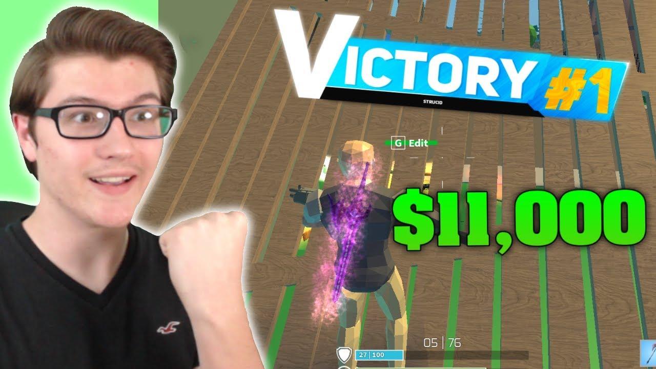 I WON 11,000 ROBUX IN STRUCID! (ROBLOX FORTNITE) - YouTube
