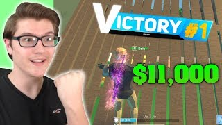 I WON 11,000 ROBUX IN STRUCID! (ROBLOX FORTNITE)