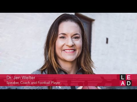 Moving one yard at a time - Dr. Jen Welter @LEAD Presented by HR.com